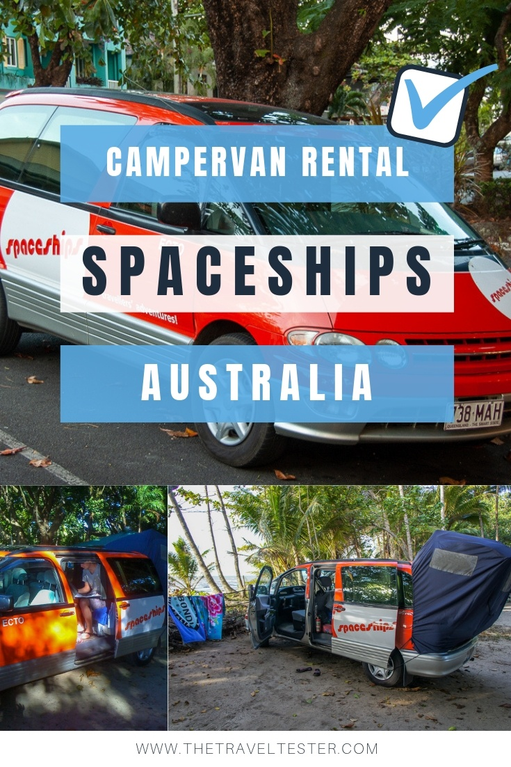 Spaceships Campervan Rental Australia: Driving That Is Out Of This World! || The Travel Tester
