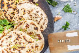 Easy Camping Recipe: Flatbreads Made With Just Flour & Yoghurt || The Travel Tester