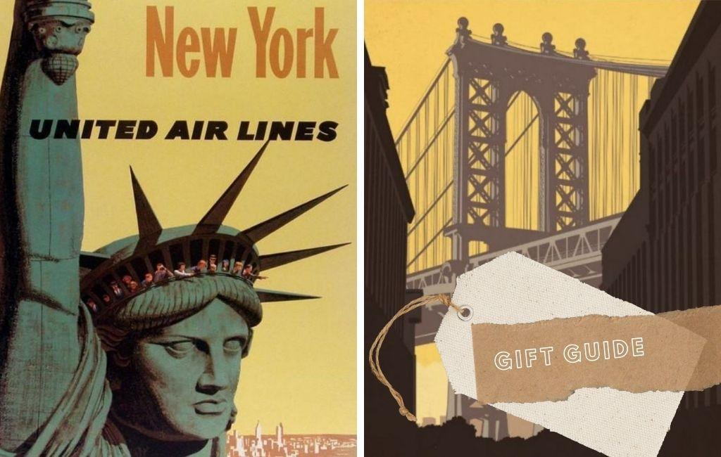 56x Vintage Travel Posters New York You'll Love