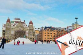 Travel Diary: Helsinki in Winter: You're HOT and you're COLD! || The Travel Tester