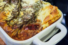 British Cuisine Toad-in-the-Hole Recipe | Food Around the World || The Travel Tester