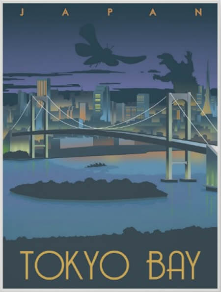 35x Vintage Reisposters Japan | The Travel Tester