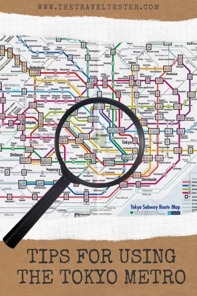 Metro Tokyo Map, Tickets and Help Getting Around in Tokyo, Japan | The Travel Tester