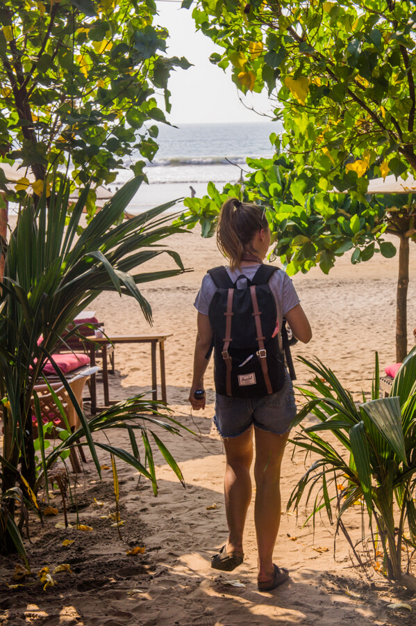 Hippie Vibes at Laughing Buddha in Goa, India || The Travel Tester