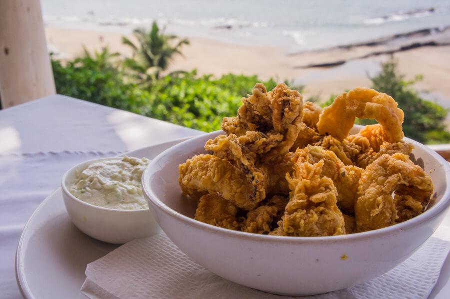 Amazing Greek Food at Thalassa in Goa, India || The Travel Tester