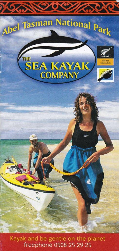 The Brochure Rack: Sea Kayak in Abel Tasman National Park, New Zealand || The Travel Tester