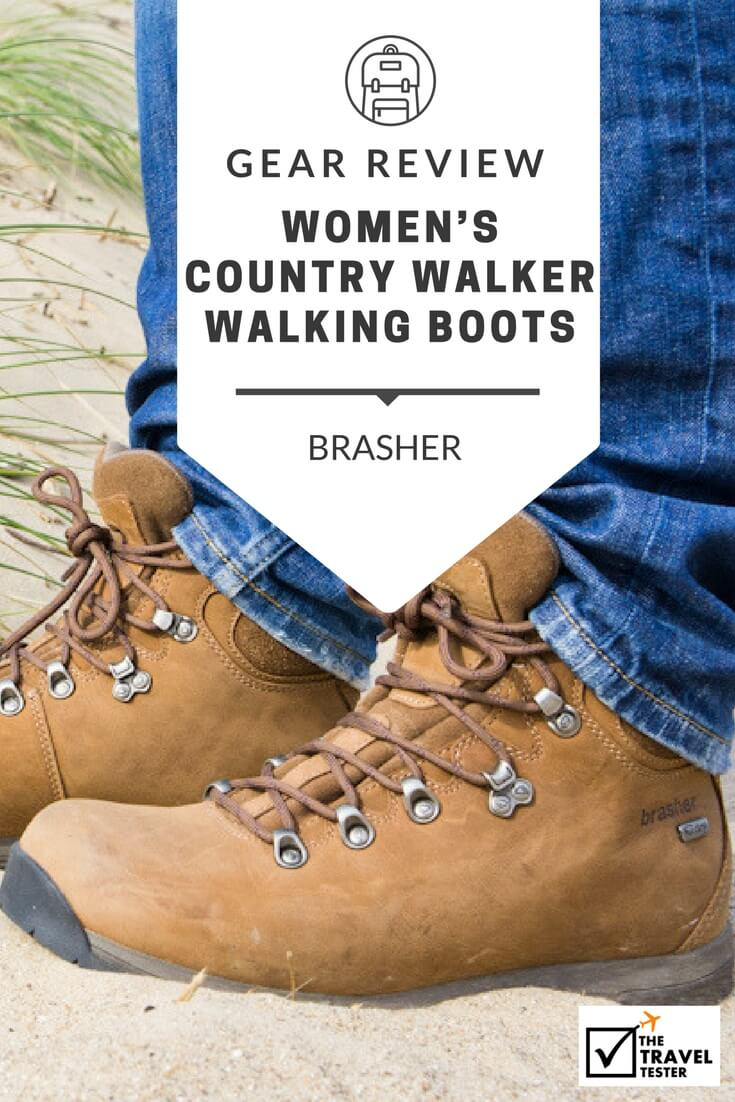 Brasher Women's Country Walker Walking Boots Review: Classic Design with Comfort and Performance    The Travel Tester