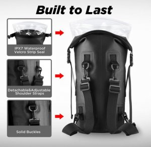 Dry Sack - 10L OUTXE IPX7 Waterproof Dry Bag / Backpack