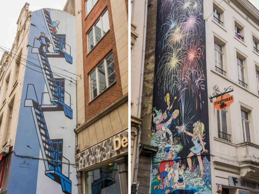 One Day in Brussels, Belgium? Complete Guide to a Perfect City Break || The Travel Tester || #Brussel #Brussels #Belgium #Travel #CityGuide #Belgie #StreetArt