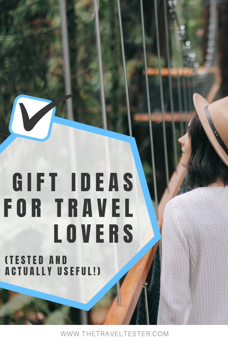 10 Unique Gift Ideas for Someone Going Travelling You Need to Know About (Tested and Actually Useful Gift Guide) || The Travel Tester || #travel #giftguide #travelgear