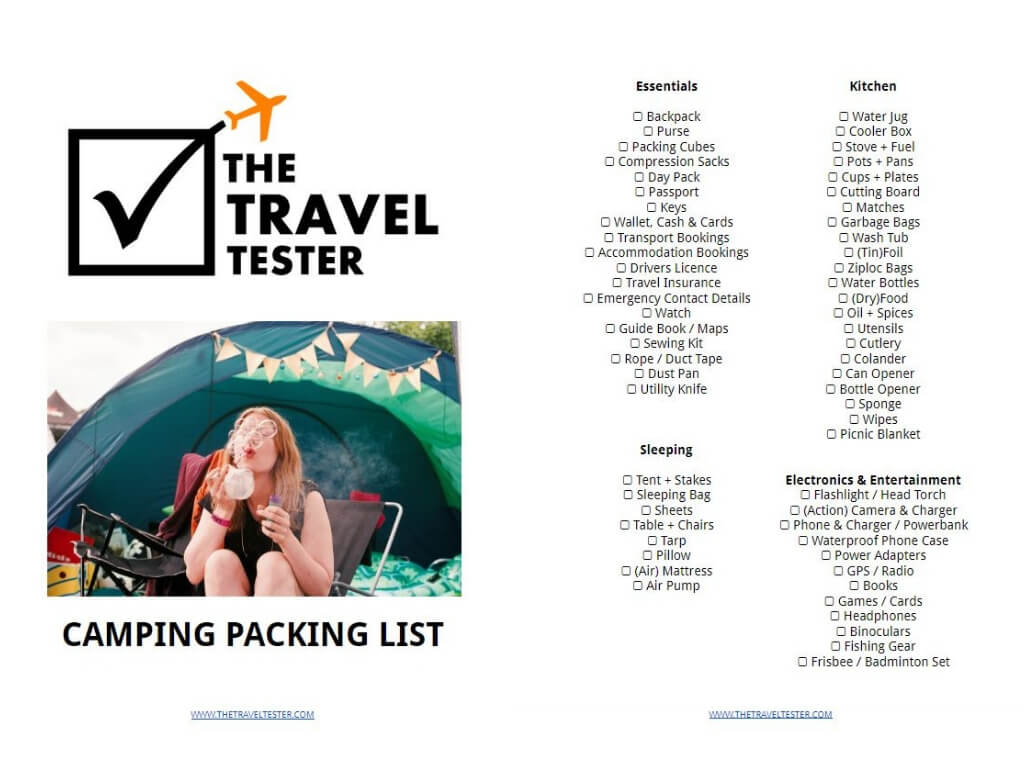 Best Glamping & Camping Tips and Tricks: How To Make the Most out of your Holiday    The Travel Tester    #Camping #Glamping #Survival #Outdoors #Travel #Nature