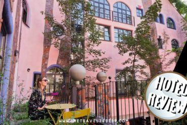 Review ArtHotel Magdeburg: Hundertwasser Architecture in Germany!    The Travel Tester