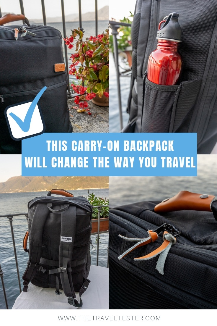 This Innovative Carry On Backpack Was Made To Spark Joy! || The Travel Tester