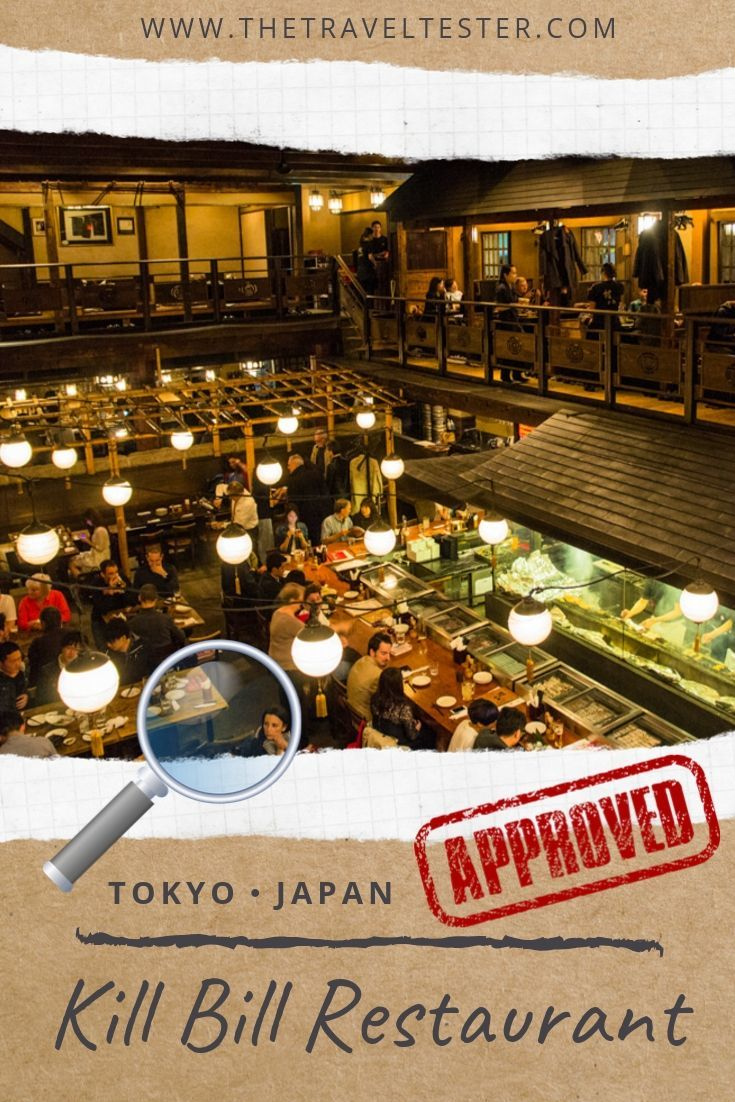 Unique Dining at Gonpachi (Kill Bill Restaurant) in Tokyo, Japan | The Travel Tester