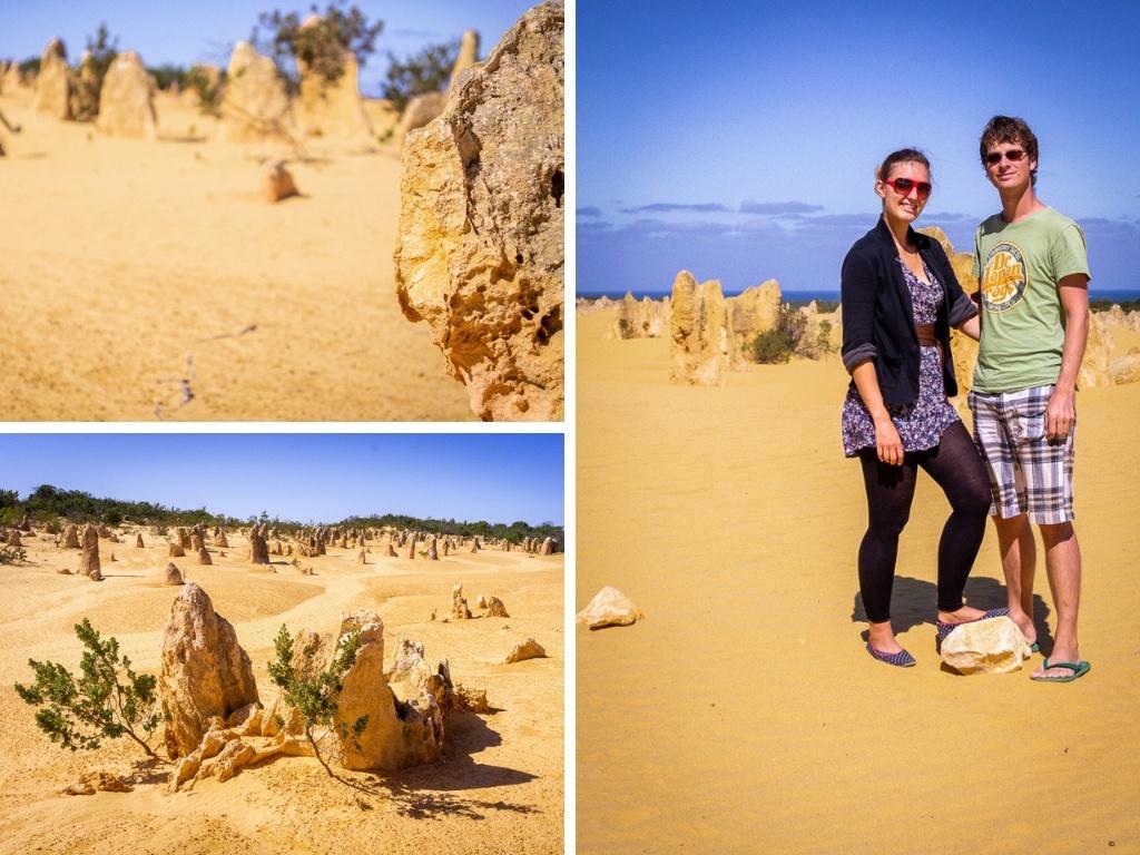 Walk on the Moon at The Pinnacles in Western Australia || The Travel Tester || #Australia #Pinnacles #thePinnacles #PinnaclesDesert #WesternAustralia #Nambung #NambungNationalPark #NationalPark #MoonLandscape