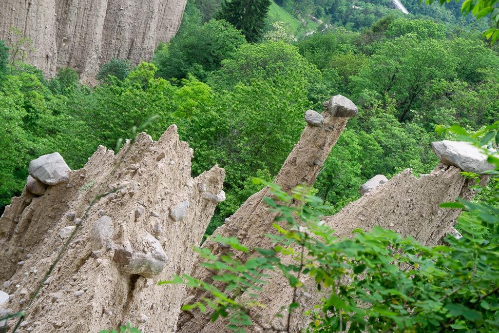 Visiting The Alien Landscape of Piramidi di Segonzano Trento, Italy || The Travel Tester
