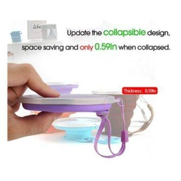 ME.FAN Silicone Collapsible Travel Cup