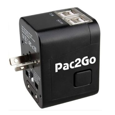 Pac2Go Universal Travel Adapter