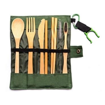 Caring Planet Bamboo Cutlery