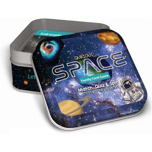 Qurious Space STEM Flash Card Game