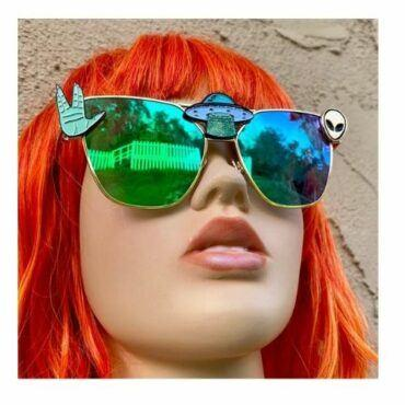 Alien Space Babe Sunglasses