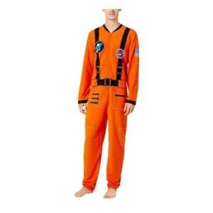 Bioworld Mens Astronaut Costume Orange