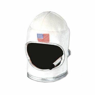 Adult Plush Astronaut Helmet White