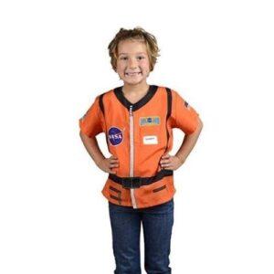 Aeromax Jr. Astronaut Top Orange