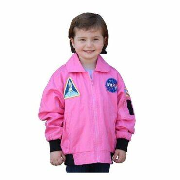 Aeromax Jr. NASA Flight Jacket Pink