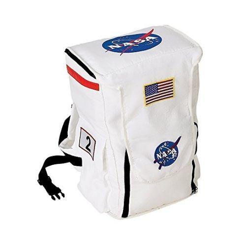 Aeromax Jr. Astronaut Backpack White