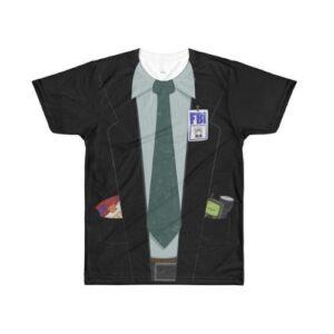 The X-Files - Fox Mulder - Halloween Costume Tee