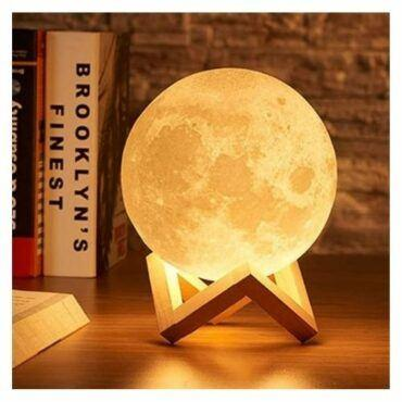 3D Moon Lamp Night Light