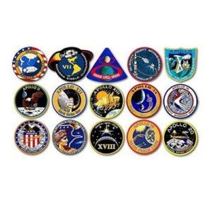 NASA Apollo Mission Logo Stickers
