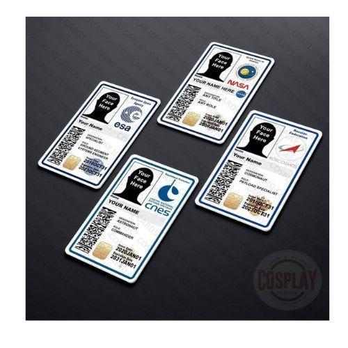 NASA Customizable ID Badge