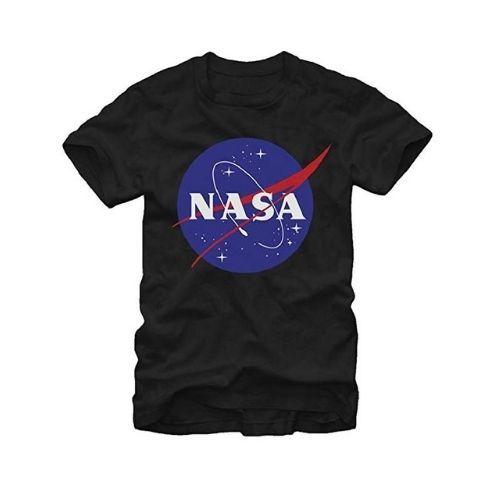NASA Logo T-Shirt Black