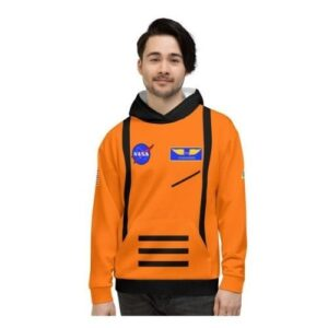 NASA Orange Spacesuit Hoodie