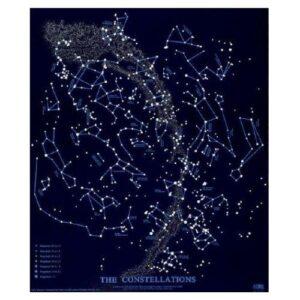 Constellations Glow-in-The-Dark Star Map