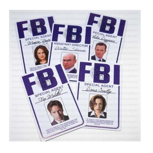 The X-Files ID Badge
