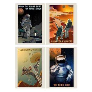 NASA Job Advert Poster Pack