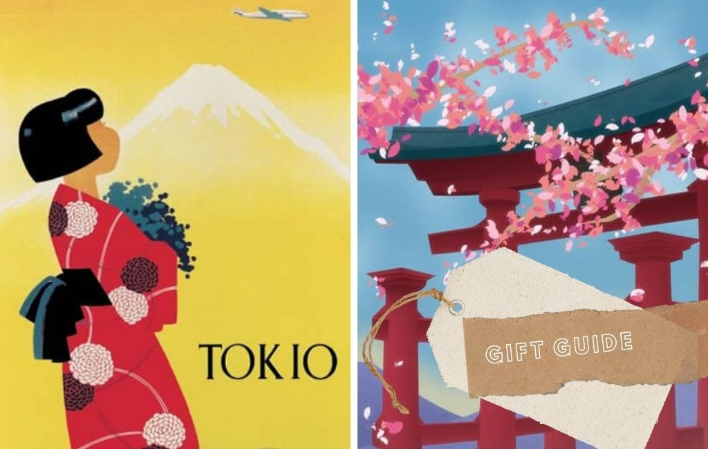 32x Vintage Travel Posters Japan You'll Love