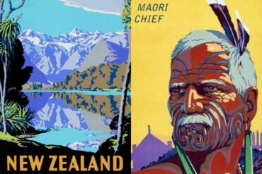 42x Vintage Travel Posters New Zealand That You Want To Put On Your Wall || The Travel Tester