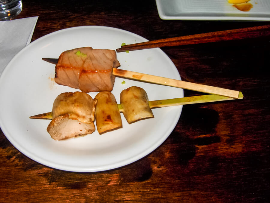 Unique Dining at Gonpachi Tokyo Kill Bill Restaurant Japan | The Travel Tester