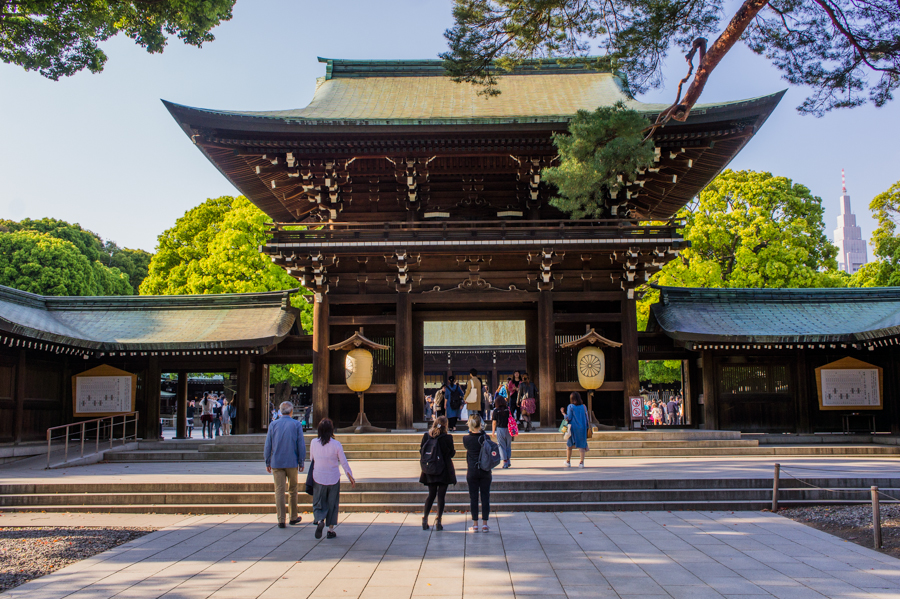 The Brochure Rack: Meiji Shrine Tokyo in Shibuya, Japan | The Travel Tester