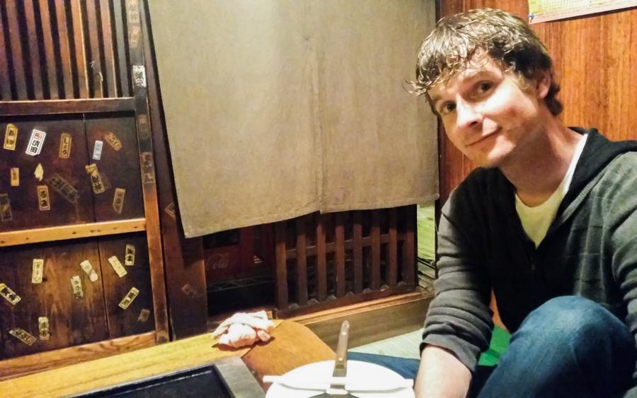 Traditional Dining at Sometaro Okonomiyaki in Tokyo, Japan   The Travel Tester