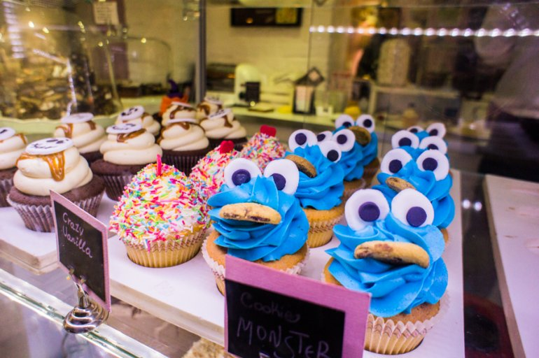 Happiness Through Cupcakes at Sweetheart in London, England